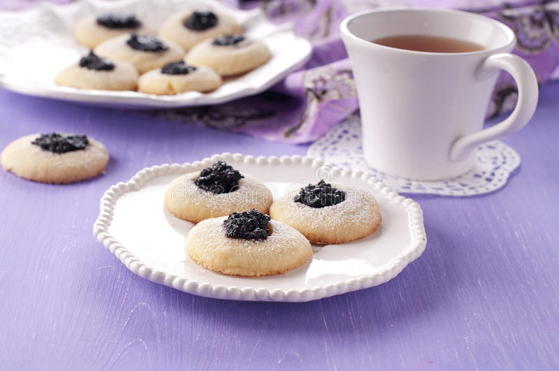 Download Homemade cookie stock image. Image of horizontal, dish - 26377121