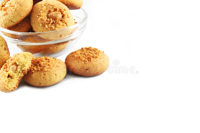 Download Homemade cookies stock photo. Image of edible, hulled - 25271152