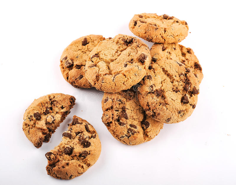 Download Homemade Cookies stock photo. Image of cookie, bake, chip - 27077168