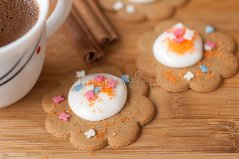 Download Homemade Cookies With Icing Stock Photo - Image: 24022720