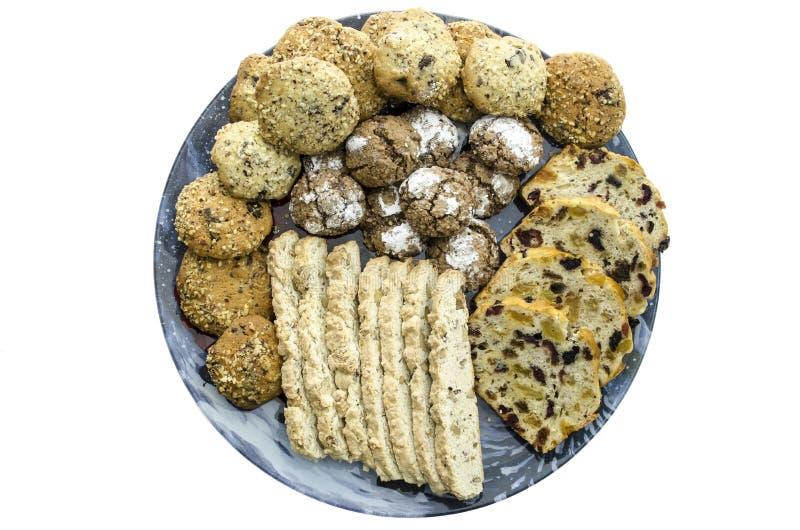 Download Homemade cookies top view stock image. Image of dessert - 28274873