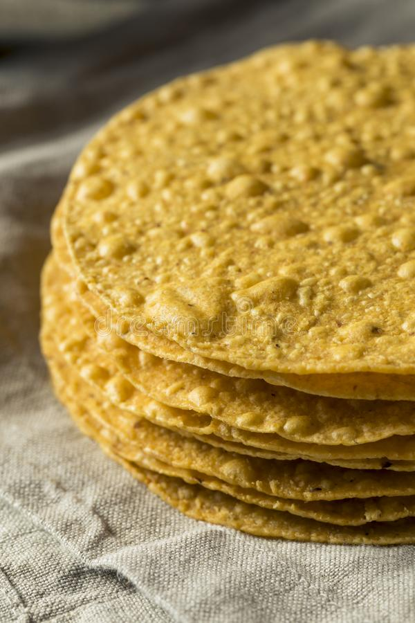 Homemade Deep Fried Tostadas royalty free stock photos