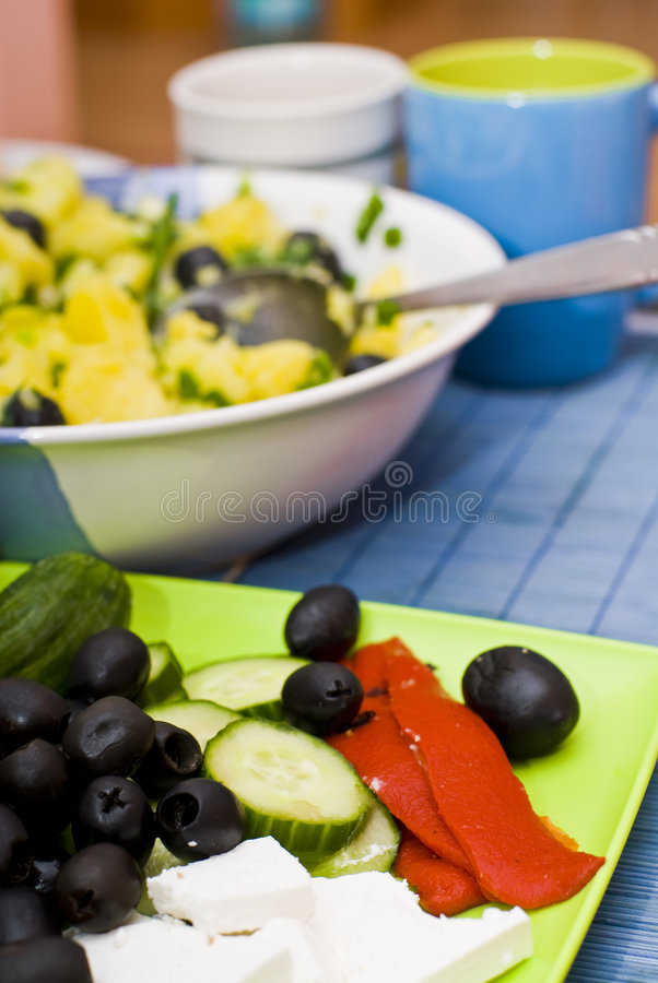Download Homemade dinner stock photo. Image of vegetables, home - 3898222