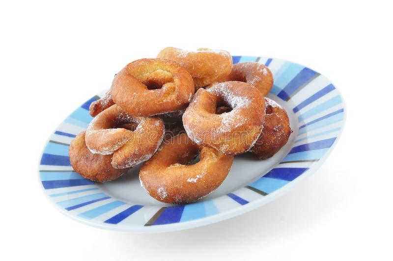Homemade doughnuts stock photography