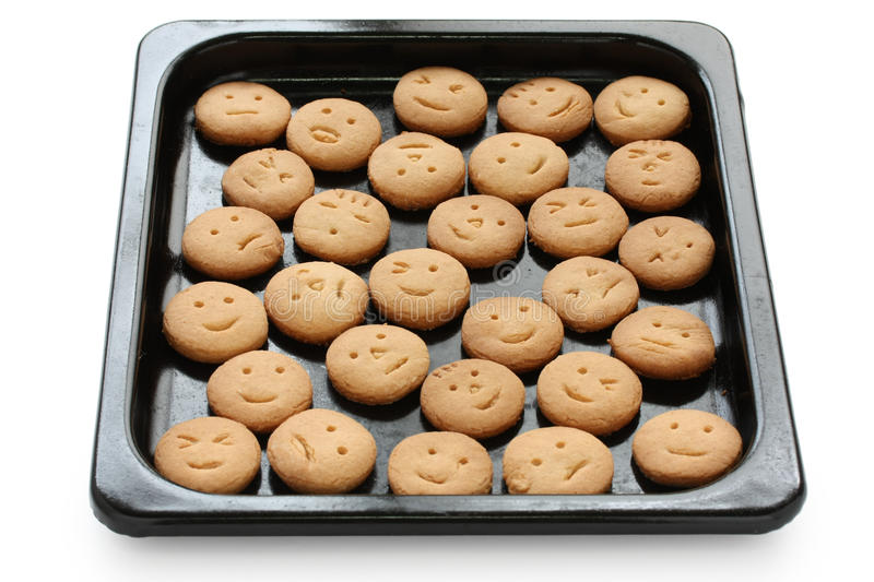 Download Homemade face cookies stock photo. Image of face, biscuit - 19377842