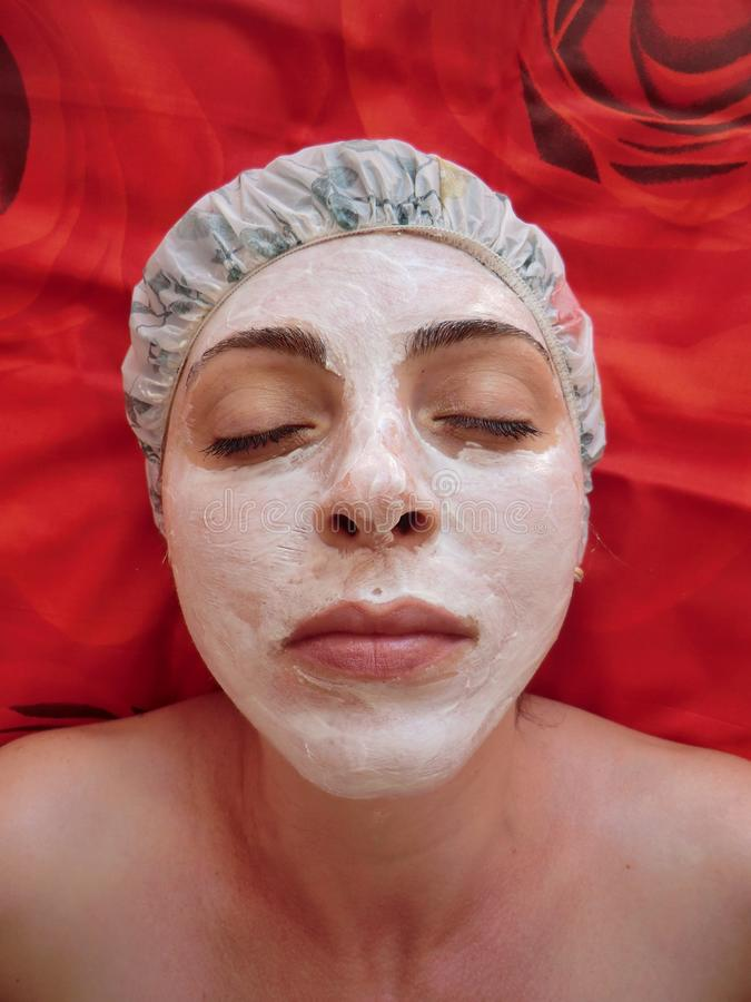 Homemade facial masks Beauty, Spa Treatment, Make- stock photo