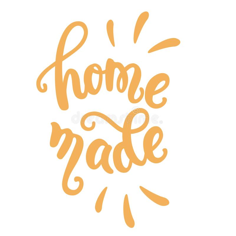 Free Homemade Food Lettering Stock Photos - 115834063