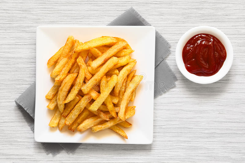 Download Homemade French Fries stock photo. Image of french, natural - 83722292