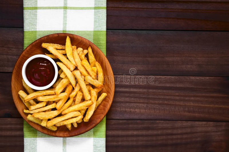 Download Homemade French Fries Stock Photo - Image: 83722413