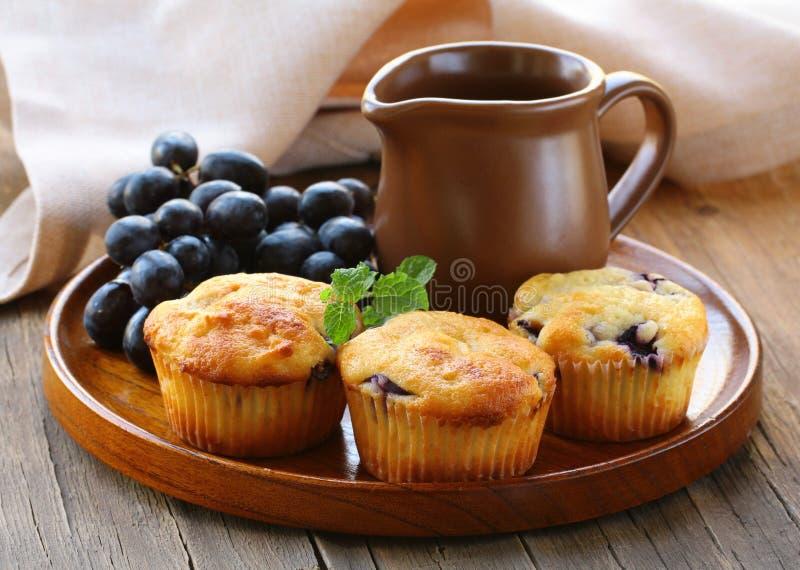 Homemade Fruit Cupcakes Stock Image