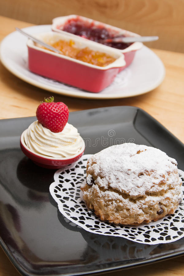 Download Homemade Fruit Scone Royalty Free Stock Image - Image: 28331656
