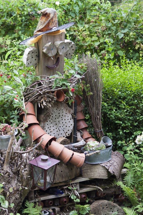 Mister still life garden royalty free stock photography