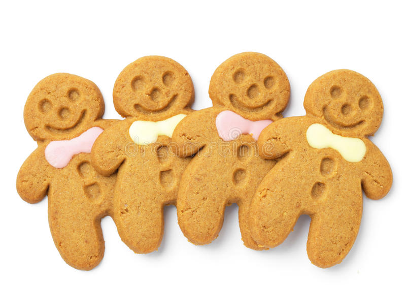 Download Homemade Gingerbread Men stock photo. Image of baked - 28352794