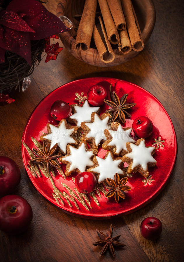 Download Homemade Gingerbread Star Cookies For Christmas Stock Image - Image: 27727043