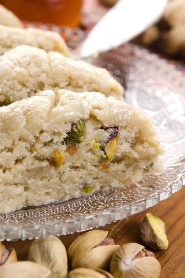 Download Homemade Halvah With Pistachio Royalty Free Stock Photo - Image: 26069235