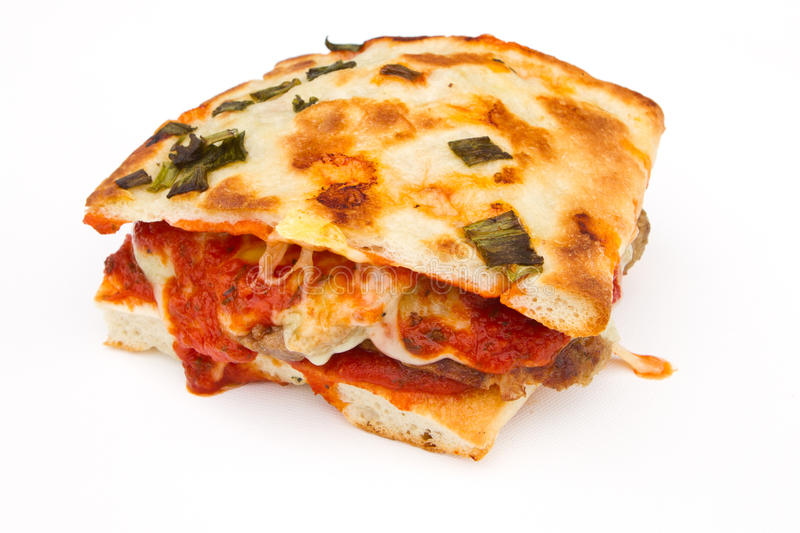 Download Homemade Meatball Sandwich On Focaccia Bread Stock Photo - Image: 20558422