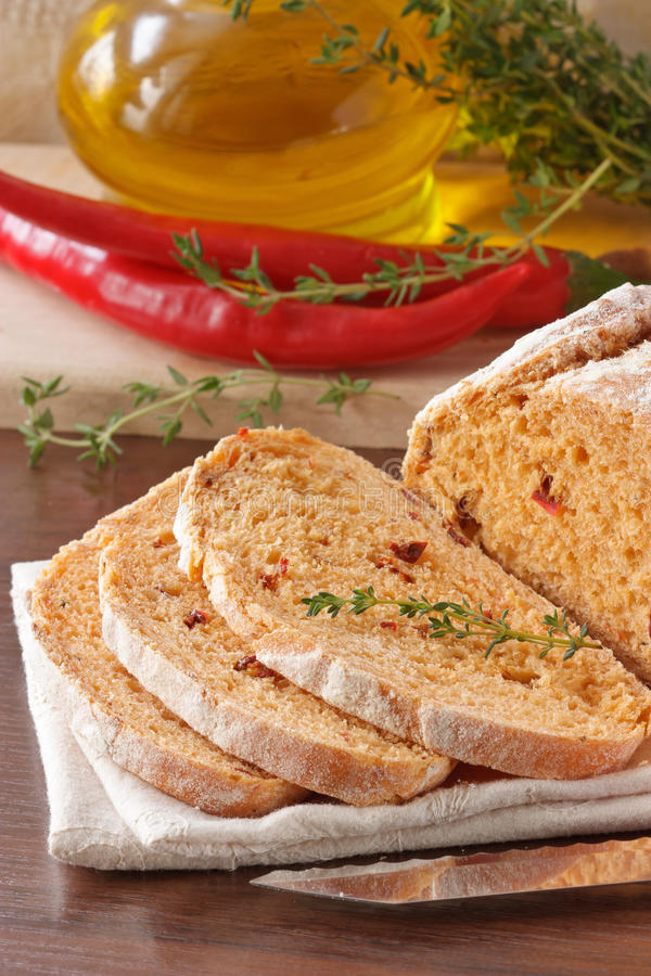 Homemade Mexican bread royalty free stock photo