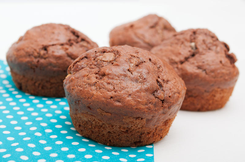 Download Homemade Muffins stock photo. Image of chocolate, snack - 23202806