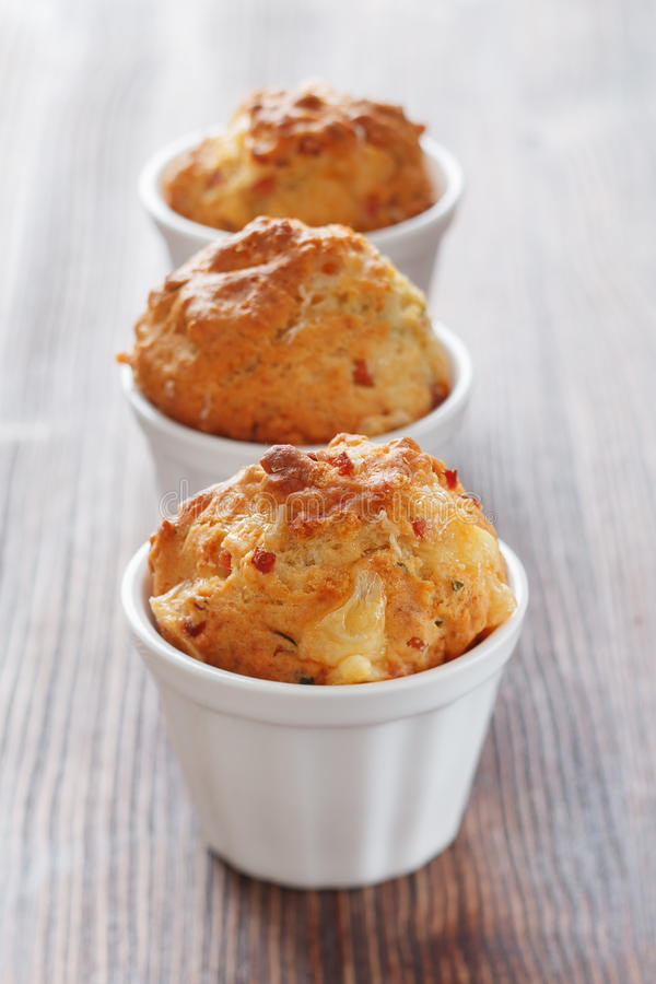 Download Homemade Muffins With Ham And Cheese Stock Image - Image: 27702045