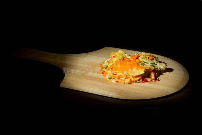 Homemade Nachos with Cheese. stock photos
