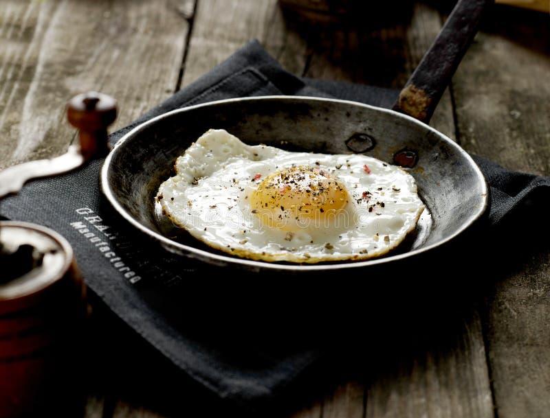 Omelette for breakfast stock image