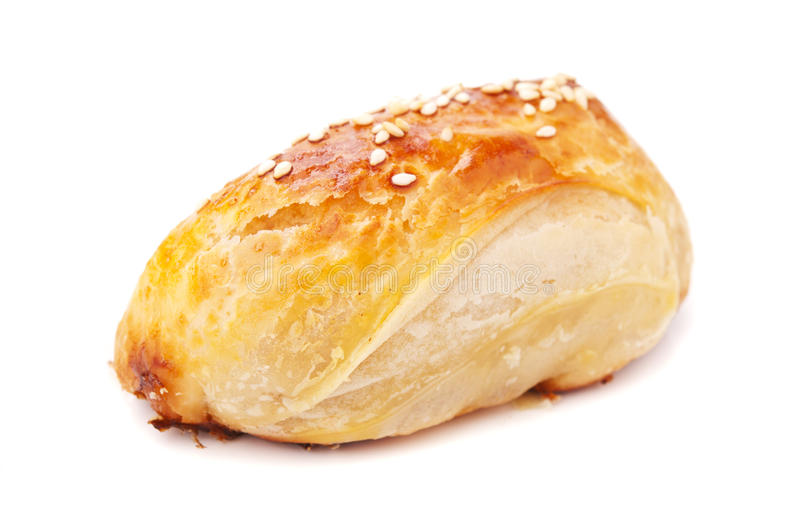 Download Homemade pasty with sesame stock photo. Image of pasty - 25312236
