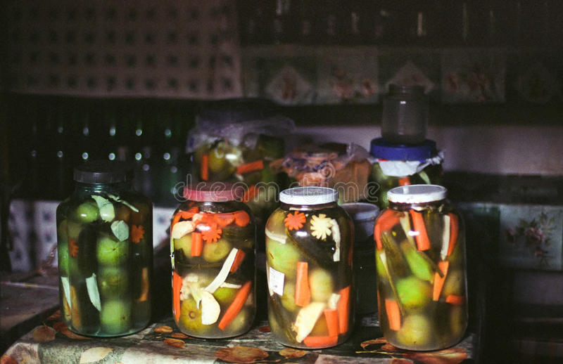 Homemade Pickles Stock Image