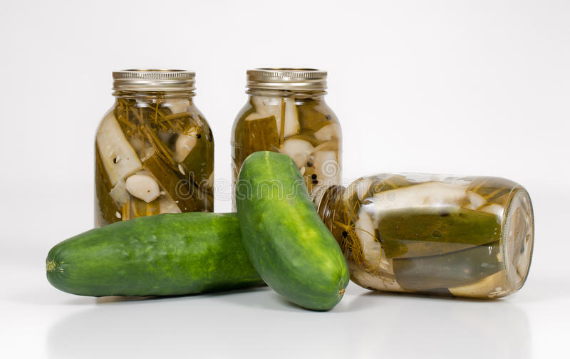 Download Homemade Pickles With Cucumbers Stock Photo - Image: 15731110