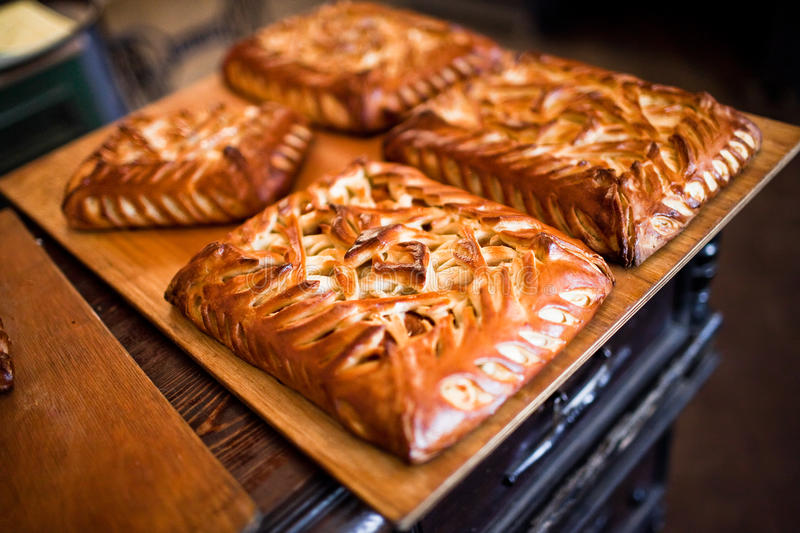 Download Homemade pies stock image. Image of self, cook, home - 24665227
