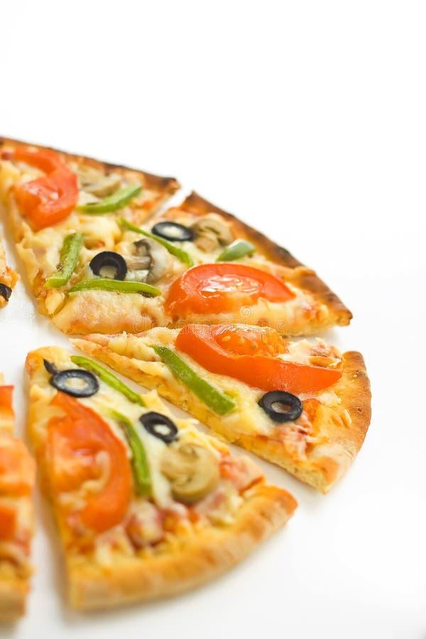 Download Homemade Pizza Fresh Tomato Olive Mushroom Cheese Stock Photo - Image: 8627074
