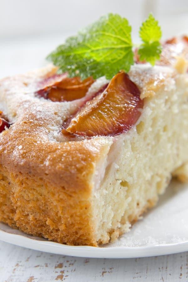 Download Homemade plum pie stock image. Image of filling, closeup - 25893695