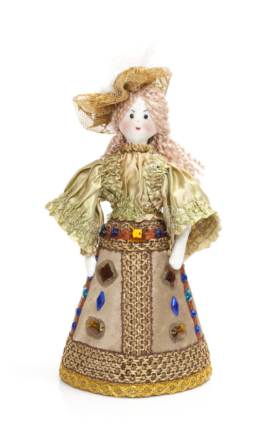 Homemade Rag Doll Royalty Free Stock Images