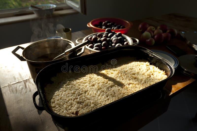 Homemade Rural Rice Pudding Stock Photos