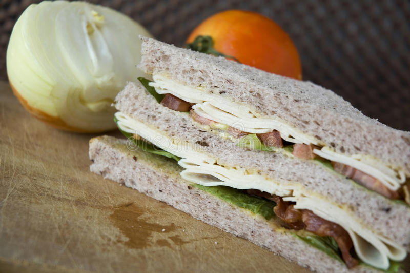 Download Homemade sandwich stock image. Image of fiber, fresh - 29501405