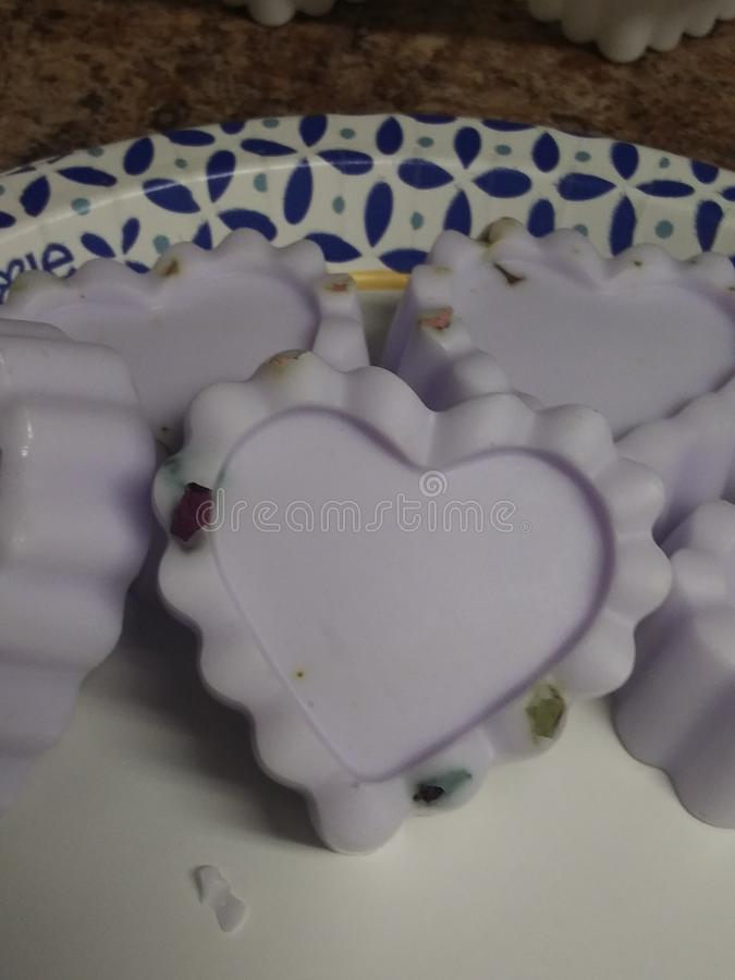 Homemade soaps  making everyone loves them. Homemade soaps I& x27;m making everyone loves them. Im stock photography
