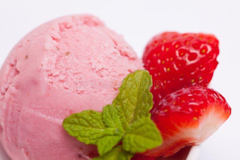 Download Homemade Strawberry Ice Cream Stock Image - Image: 27412753