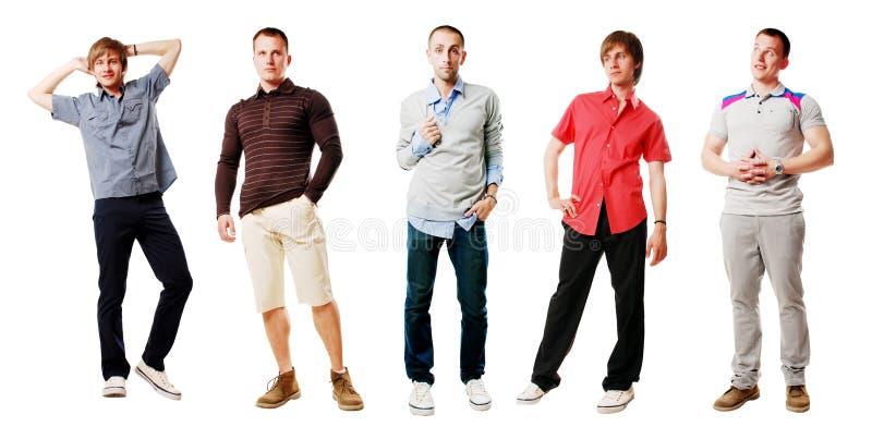Homens fotografia de stock