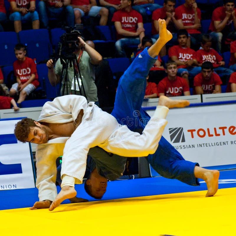 Homens 2011 do copo de mundo do judo imagens de stock