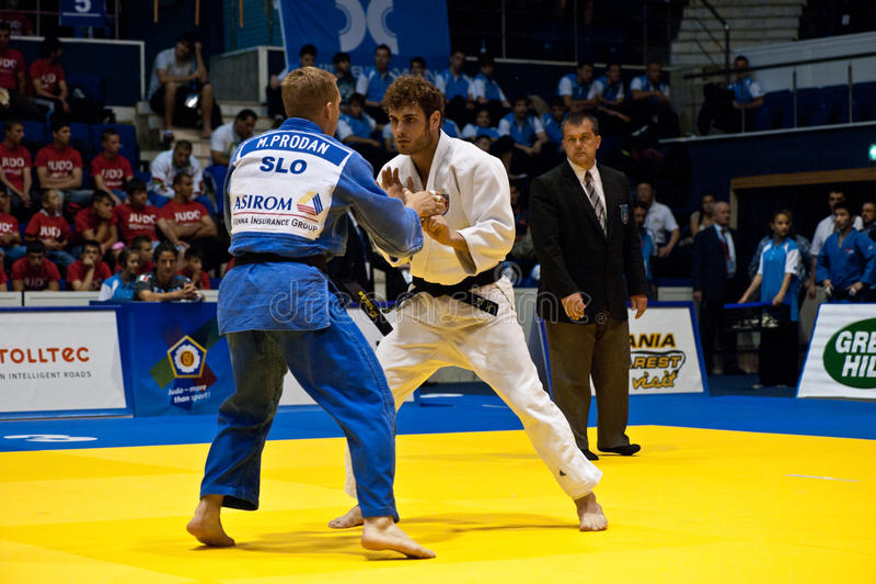 Homens 2011 do copo de mundo do judo foto de stock