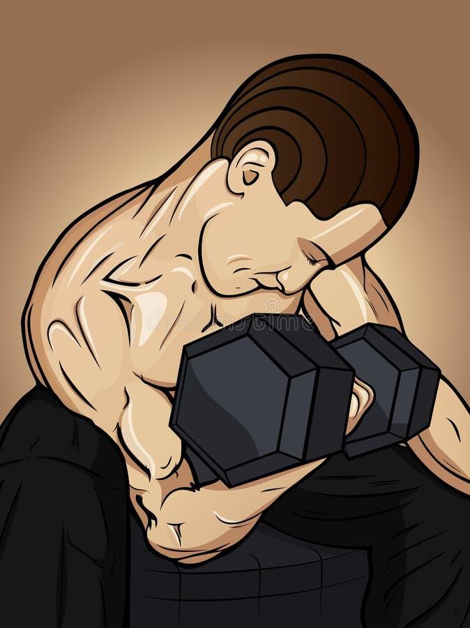 Homens da ginástica imagens de stock royalty free