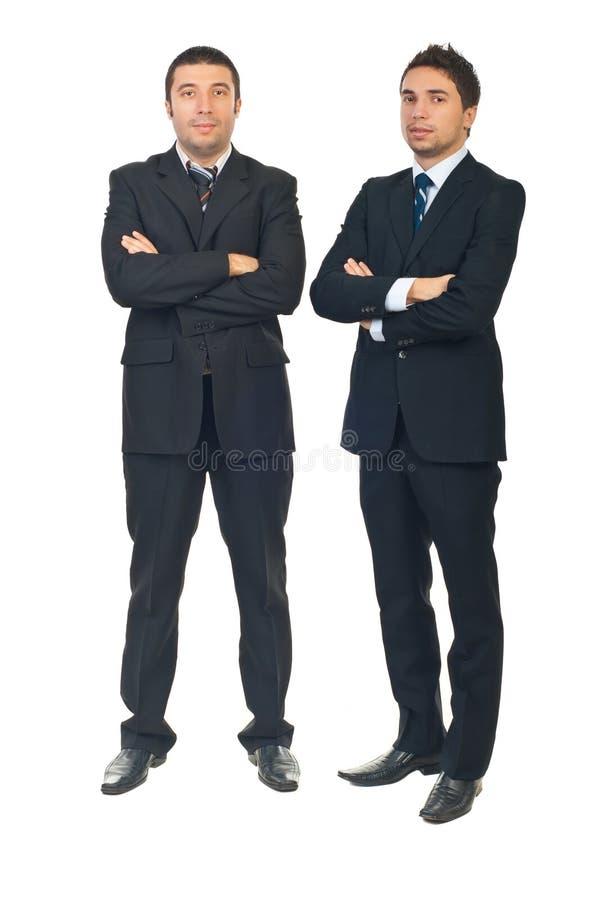 Homens de negócio consideráveis foto de stock royalty free