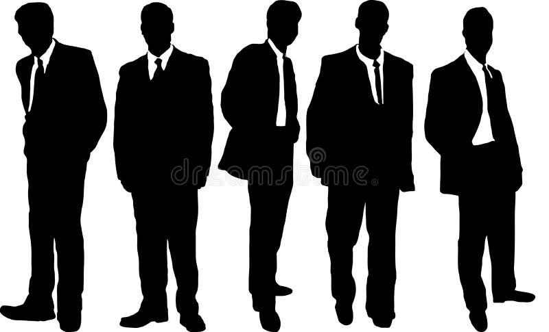 Homens de negócio ocasionais ilustração do vetor