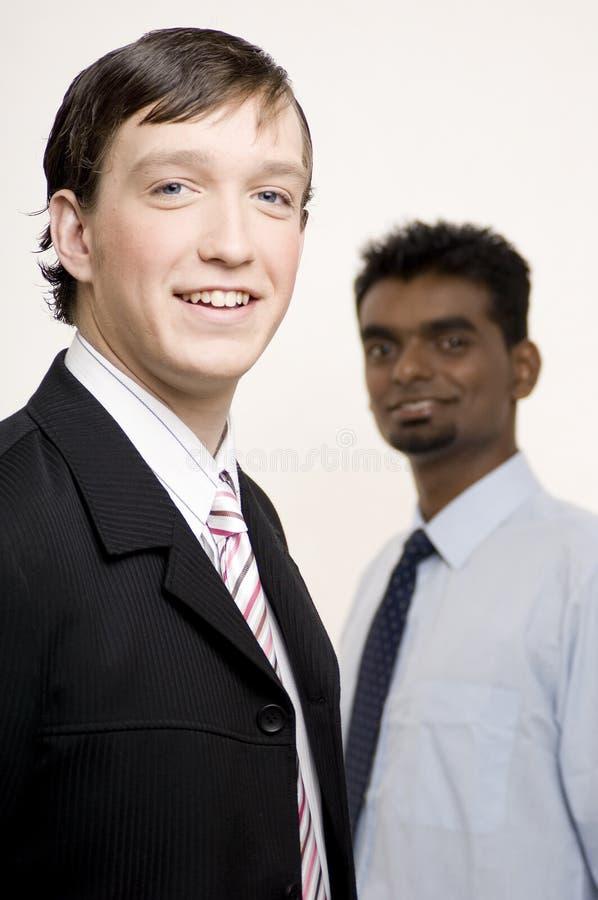 Homens de negócios 10 foto de stock
