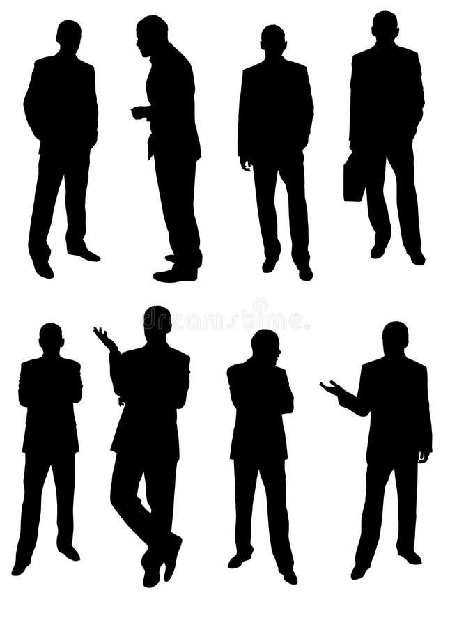 Homens de negócios ilustração stock