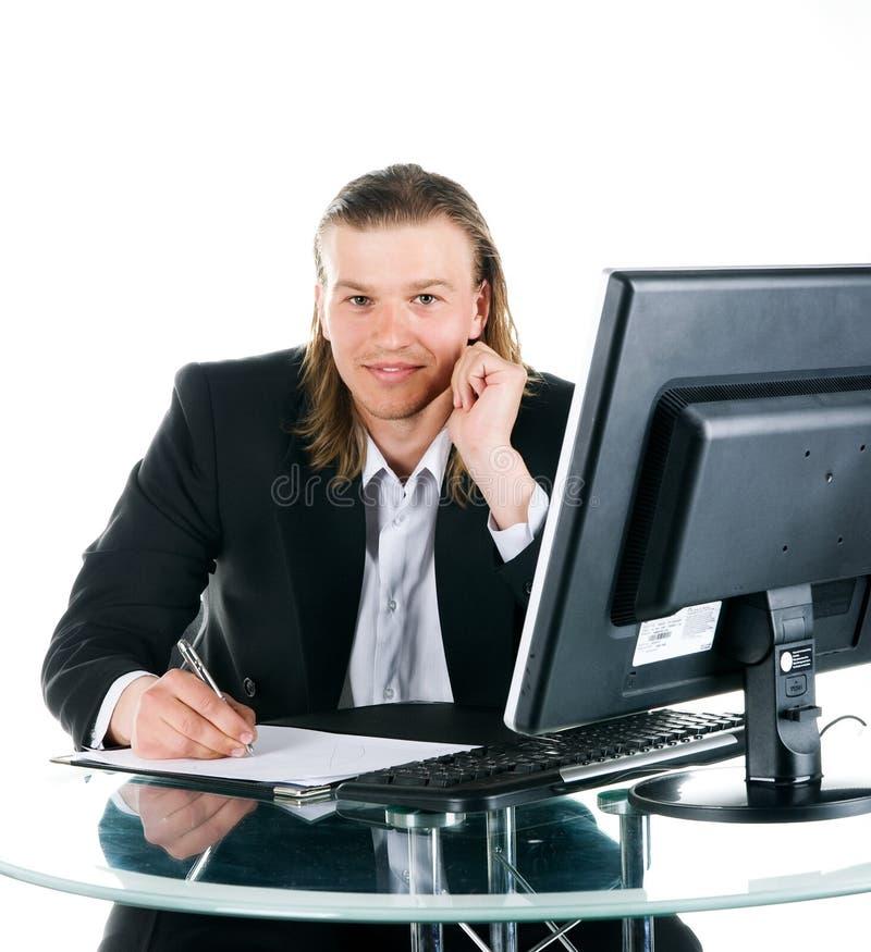 Homens de negócios bem sucedidos imagem de stock royalty free