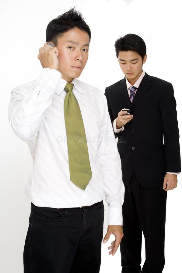 Homens de negócios modernos foto de stock royalty free
