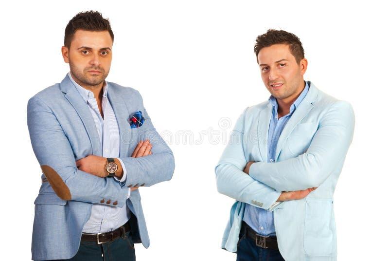 Homens dos executivos imagem de stock royalty free