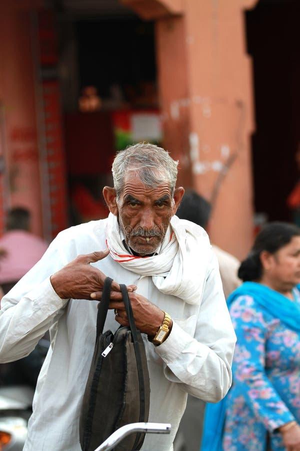 Homens indianos idosos fotografia de stock royalty free