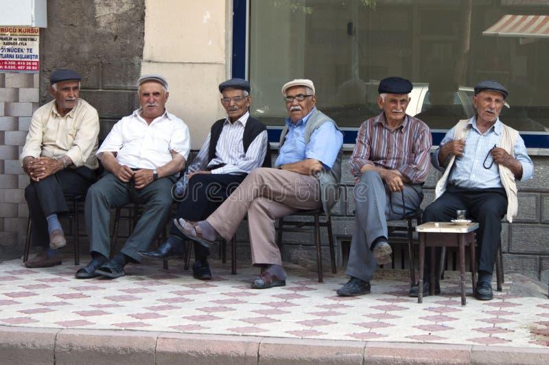 Homens turcos fotografia de stock
