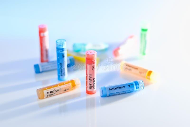 Homeopatía foto de archivo